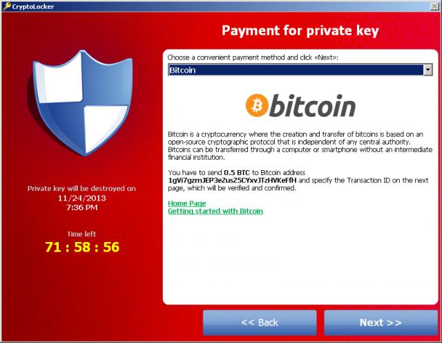 bitcoin ransom scam