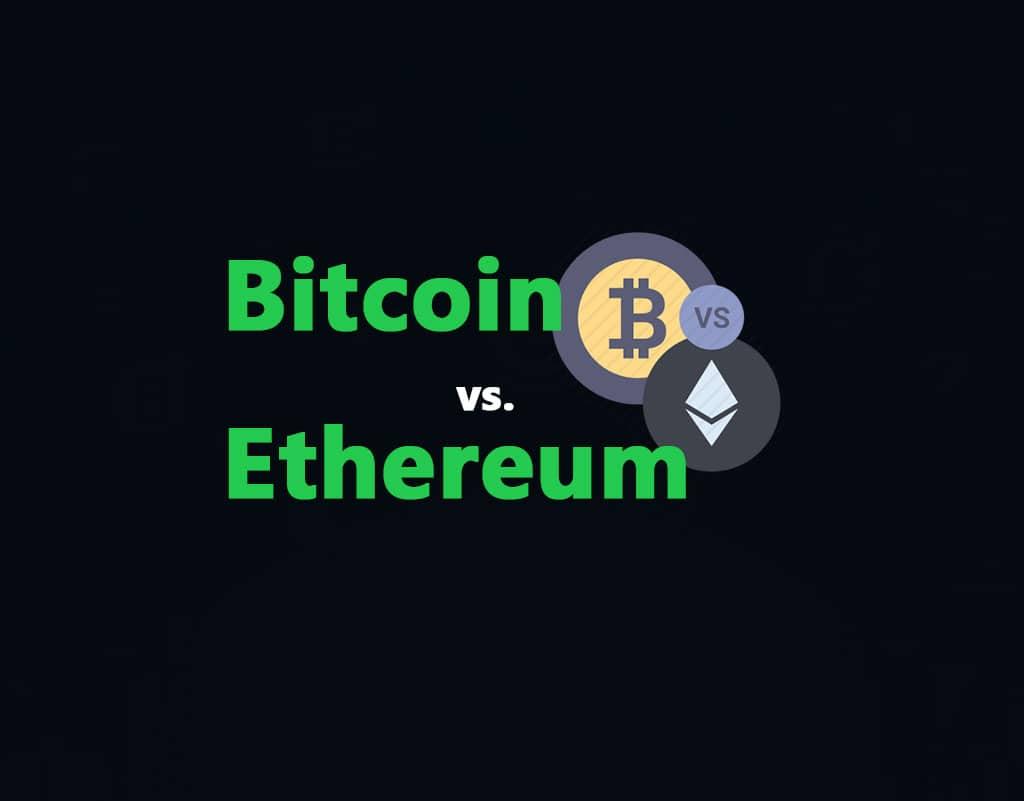 bitcoin vs ethereum 2020