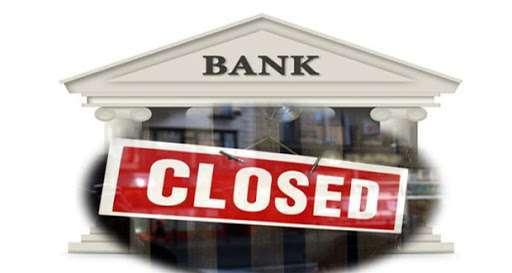 bank shut down account