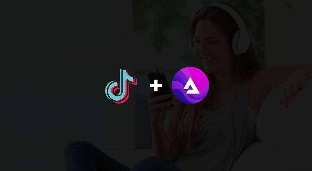 toktok audius partnership
