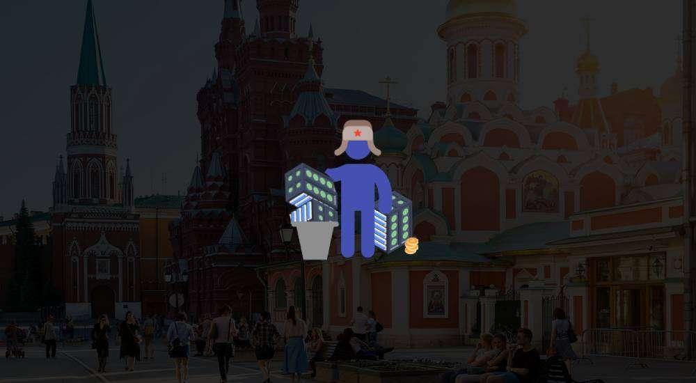 russian garbage man steals mining equipment