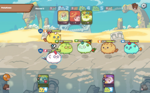axie infinity nft game